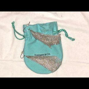 Tiffany & Co. Elsa Peretti Lg Scarf Mesh Earring
